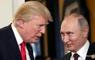 Трамп поздравил с инаугурацией Путина
