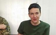 Савченко требует пустить ее работать в Раду
