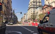 Центр Мадрида перекрывали из-за утечки газа