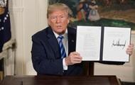 Трамп объявил о выходе США из сделки по Ирану