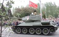 Парад 9 мая в оккупированном Донецке: онлайн
