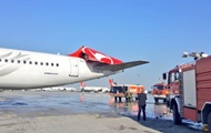 В аэропорту Стамбула столкнулись два самолета