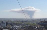 Взрывы снарядов в РФ: в небе образовался
