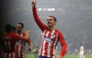 Дубль Гризманна принес Атлетико победу в Лиге Европы