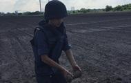 В поле под Черкассами нашли снаряд