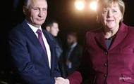 Меркель рассказала, о чем будет говорить с Путиным в Сочи