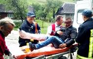 На Закарпатье пассажир выпал из поезда
