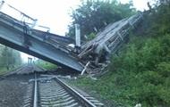 В ЛНР рухнул мост