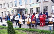 В Харькове из школы госпитализированы 15 учеников
