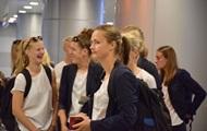 Участники женского финала ЛЧ прилетели в Украину