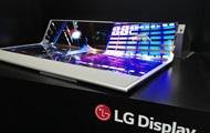 LG показала прозрачный гибкий двухметровый дисплей