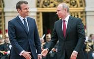 Макрон завтра встретится с Путиным