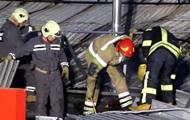 В Киеве произошел пожар возле метро Академгородок