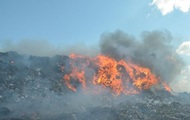 В Николаеве горит главная городская свалка