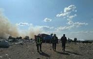 Рятувальники локалізували пожежу на звалищі в Миколаєві