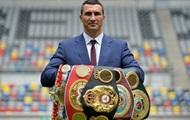 Владимир Кличко приглашен в Зал славы бокса