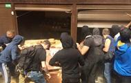 В Киеве неизвестные устроили погром на рынке