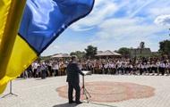Школьник потерял сознание во время выступления Порошенко