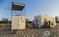 В Затоке сотрудников базы отдыха задержали за разбойное нападение