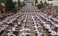 Массовый танец детей в Обухове побил рекорд