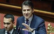 Премьер Италии хочет пересмотра санкций против РФ