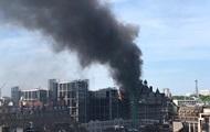 В центре Лондона загорелся отель