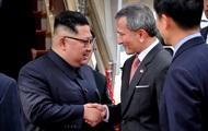 Ким Чен Ын прибыл в Сингапур на саммит с Трампом