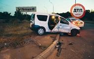 В Киеве столкнулись две легковушки: пять пострадавших