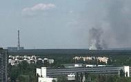 В Киеве крупный пожар возле ТЭЦ-6