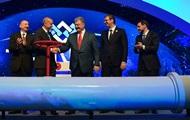 Киев приглашен. Открыт новый газопровод в Европу