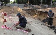 В Чернигове нашли в котловане 33 мины времен Второй мировой