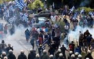 В Греции протесты после соглашения с Македонией