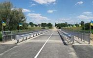 В прифронтовом Троицком восстановили взорванный мост