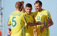 Сборная Украины по пляжному футболу с победы начала отбор Евролиги