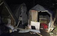 На лагерь ромов во Львове напали члены незарегистрированной группировки