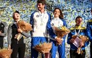 Тимощенко с Пермыкиной выиграли бронзу Финала Кубка мира
