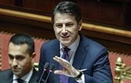 Премьер Италии выступил против продления антироссийских санкций
