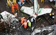 В Индии самолет упал на строительную площадку, есть жертвы