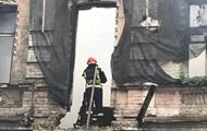В Киеве на Подоле горел трехэтажный дом