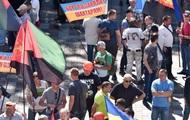 Под Радой протестуют шахтеры
