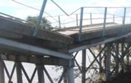Обвал моста в Карпатах отрезал от цивилизации целое село