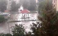 На Киев обрушился ливень