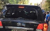 Задержан протестующий, который разбил авто депутата - СМИ