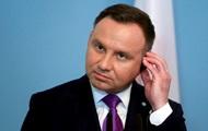 Дуда заявил, что Киев боится эксгумации на Волыни