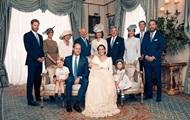 Появились официальные фото с крещения принца Луи