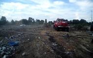 У Полтавській області горить звалище