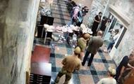 Опубликовано видео прорыва неизвестных в НАБУ