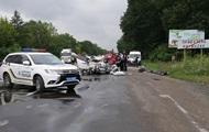 В Украине произошло третье крупное ДТП за день
