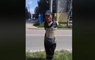 В Чернигове мужчину привязали к столбу