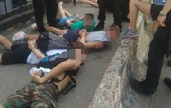 Драка фанатов в Одессе: 14 человек задержаны